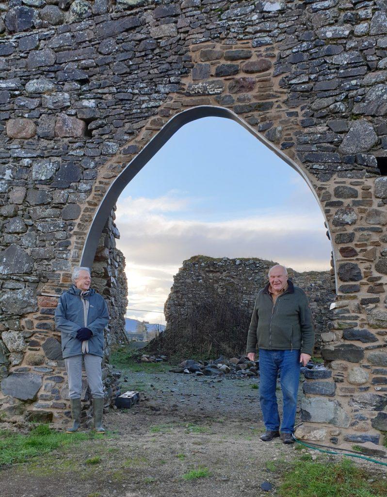Castle Roy Main arch